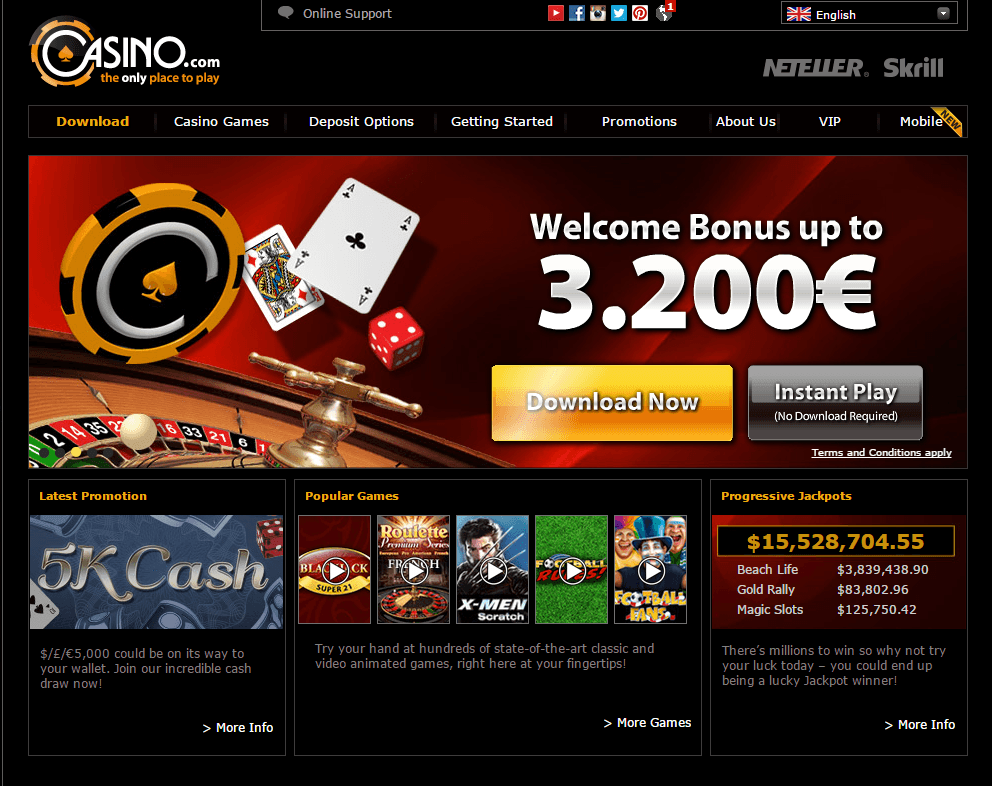 come on online casino reviews